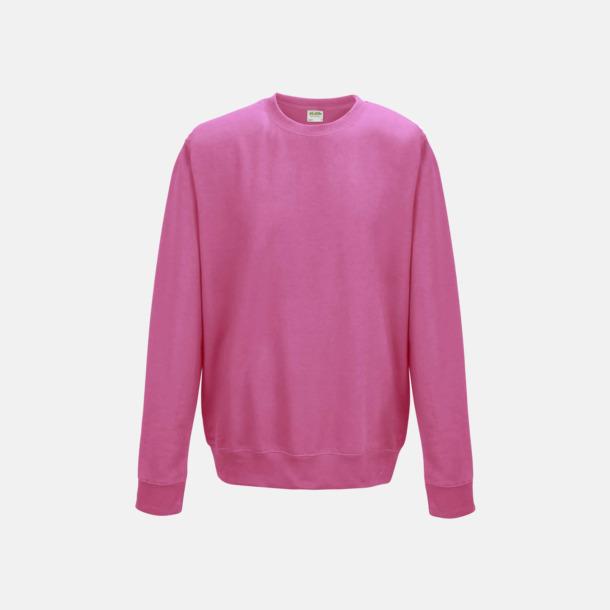 Candyfloss Pink (unisex) Tröjor i många färger med reklamtryck