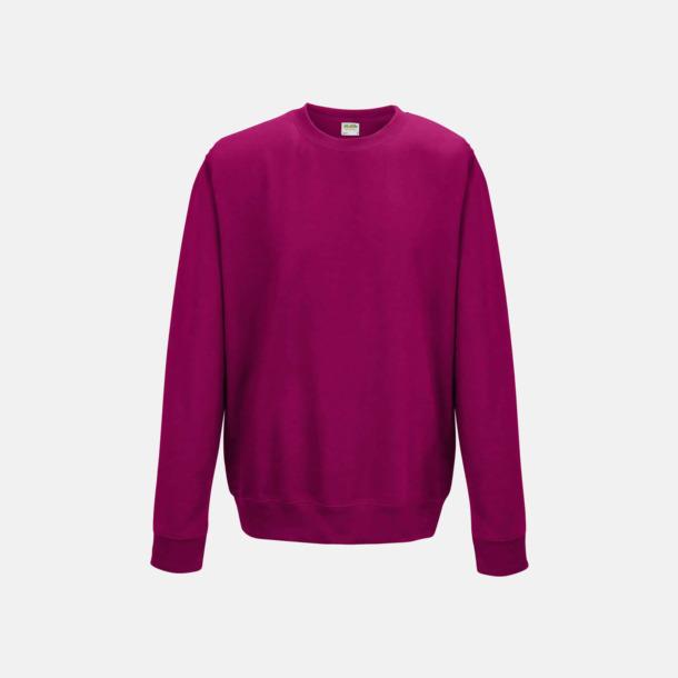 Hot Pink (unisex) Tröjor i många färger med reklamtryck