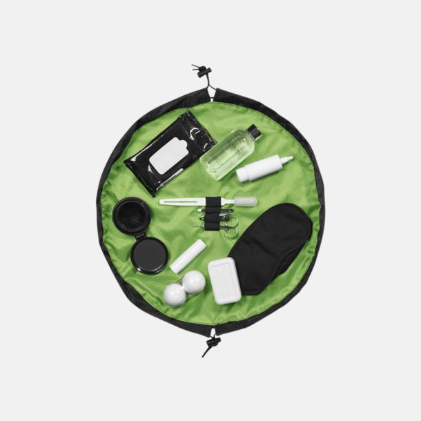 Grön Kompakta necessärer med reklamtryck