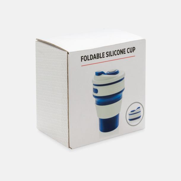 Presentförpackning Hopvikbara muggar med reklamtryck