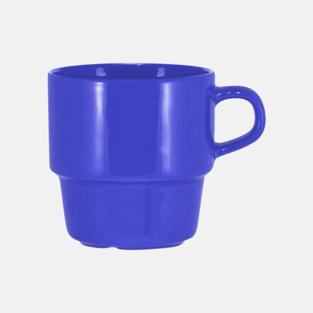 Royal 25 cl stapelbara kaffemuggar med reklamtryck