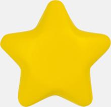Stjärnformade stressbollar med reklamtryck