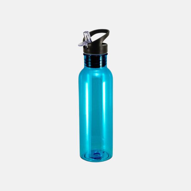 Cyan Sportiga & BPA-fria flaskor från Vildmark med reklamtryck