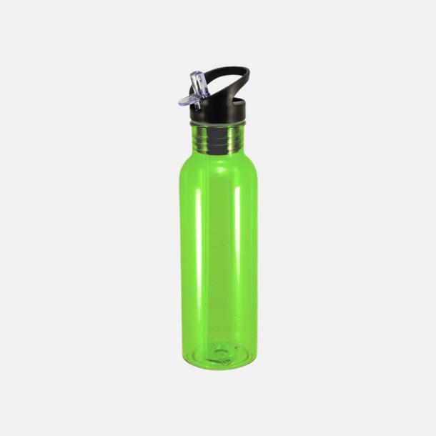 Lime Sportiga & BPA-fria flaskor från Vildmark med reklamtryck