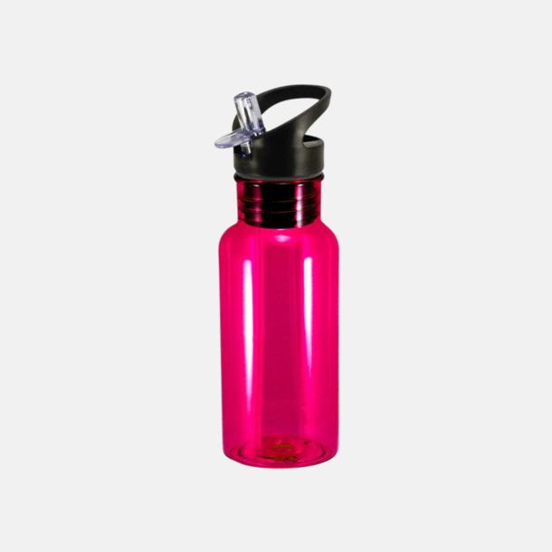 Magenta Mindre tritanflaskor med reklamtryck