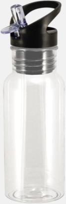 Transparent Mindre tritanflaskor med reklamtryck