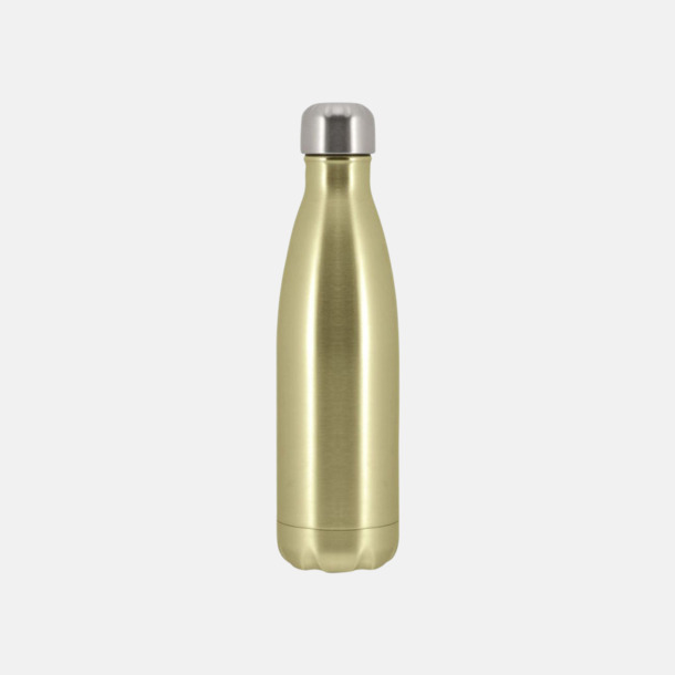 Champagne Moderna stålflaskor med reklamtryck