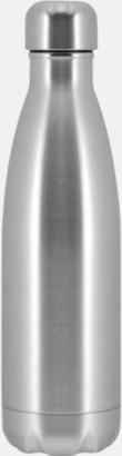 Borstad Moderna stålflaskor med reklamtryck