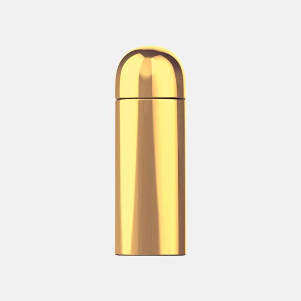 Guld Små termosar på 26 cl från Vildmark med reklamtryck