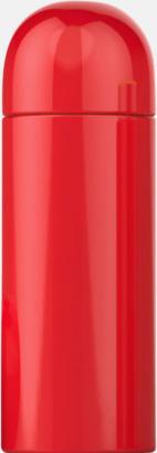 Röd Små termosar på 26 cl från Vildmark med reklamtryck