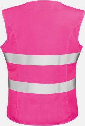 Reflexvästar med feminin passform - med reklamtryck