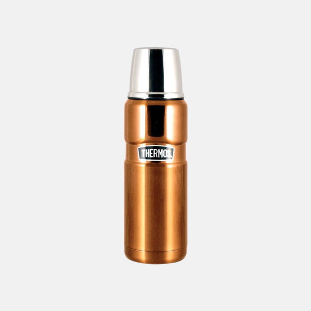 Guld (endast 0,5 liter) Ny modern termos från världens bästa termostillverkare Thermos