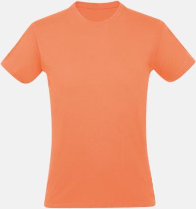 Apricot Billiga herr t-shirts i rmånga färger med reklamtryck