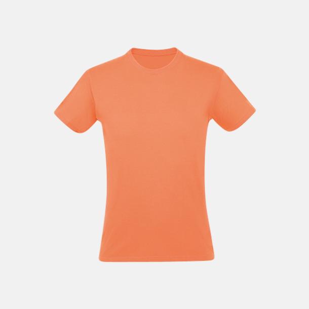 Apricot Billiga unisex t-shirts i många färger med reklamtryck