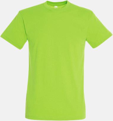 New Lime Billiga herr t-shirts i rmånga färger med reklamtryck