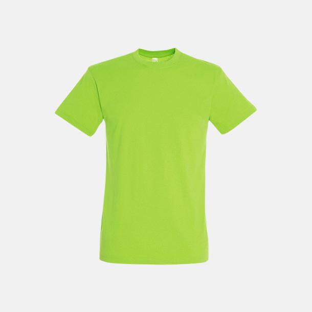 New Lime Billiga unisex t-shirts i många färger med reklamtryck