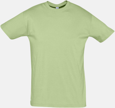 Sage Green Billiga herr t-shirts i rmånga färger med reklamtryck