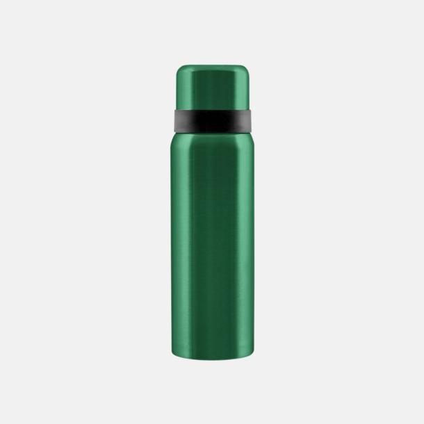 Emeraldgrön Billiga termosar med gravyr