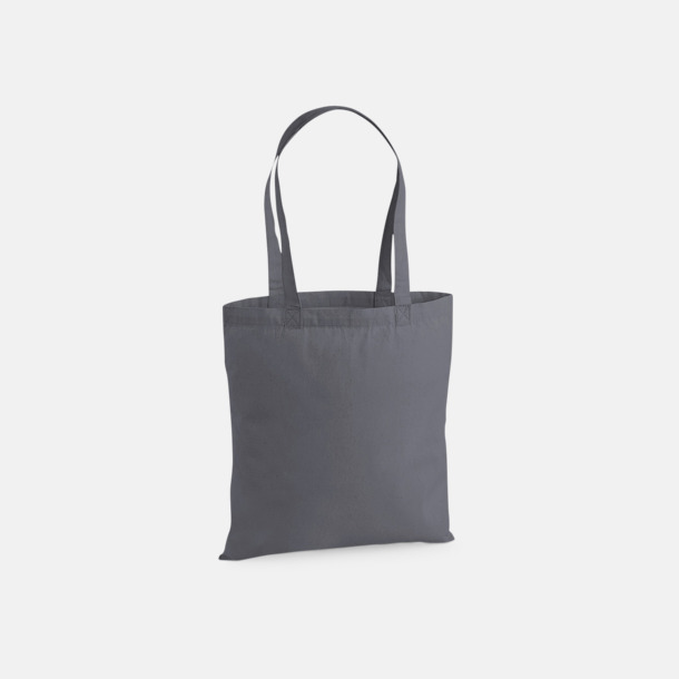 Graphite Grey Extra fina tygpåsar med reklamtryck