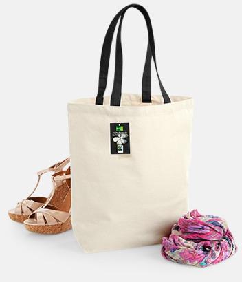 Exklusiva tygpåsar av Fairtrade-certifierad bomull - med reklamtryck