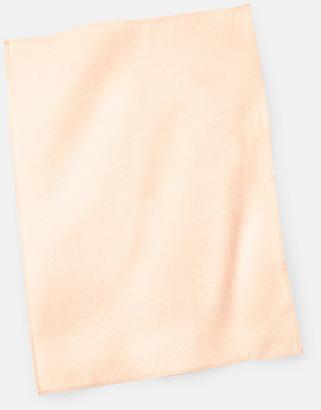 Pastel Peach Billiga kökshanddukar med reklambrodyr