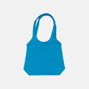 Trendiga tygväskor med reklamtryck