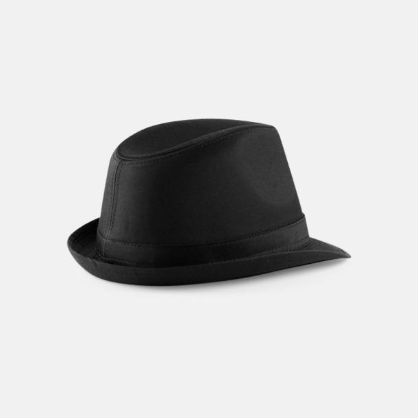 Stiliga hattar med reklamtryck