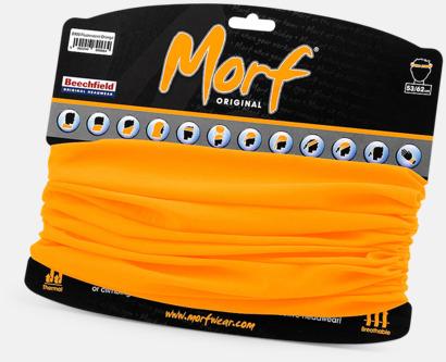 Floucerande Orange Halskragar i många färger med reklamlogo