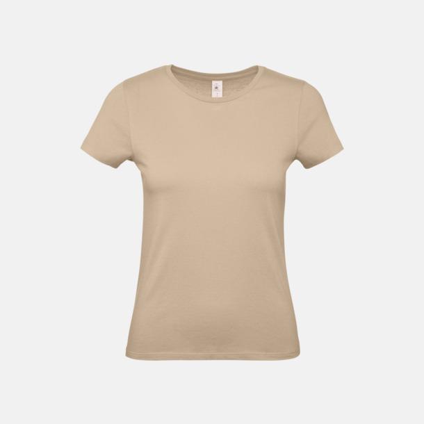 Sand (dam) Fina kvalitets bas t-shirts med reklamtryck
