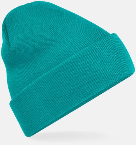 Emerald Stickad mössa i många färgstarka alternativ