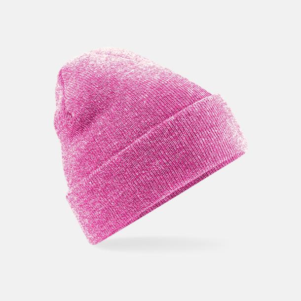 Heather Pink Stickad mössa i många färgstarka alternativ