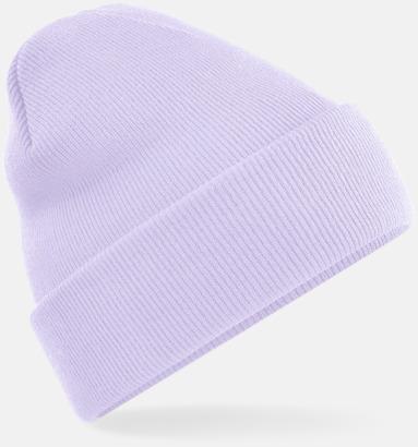 Lavender Stickad mössa i många färgstarka alternativ
