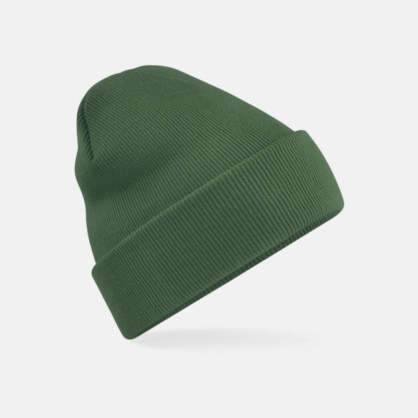 Moss Green Stickad mössa i många färgstarka alternativ