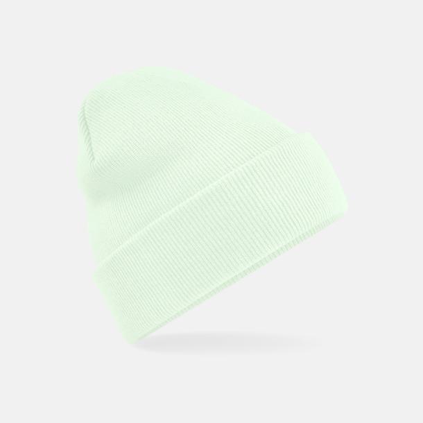 Pastel Mint Stickad mössa i många färgstarka alternativ