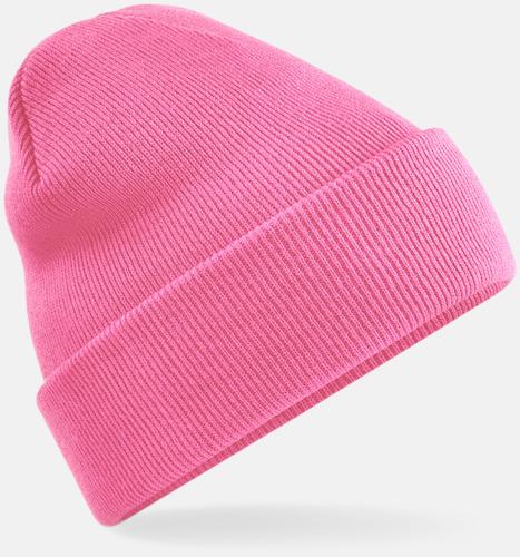 True Pink Stickad mössa i många färgstarka alternativ