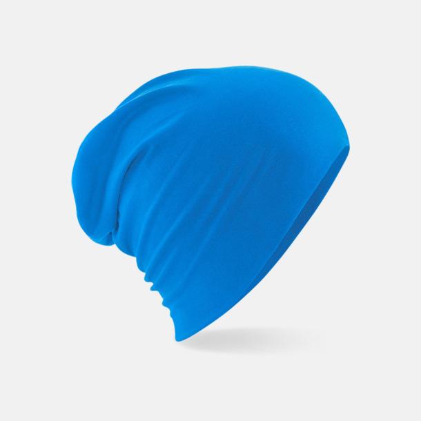 Sapphire Blue Enfärgade sportmössor med reklamlogo