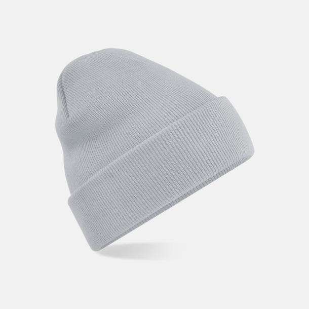 Ljusgrå Stickad mössa i många färgstarka alternativ