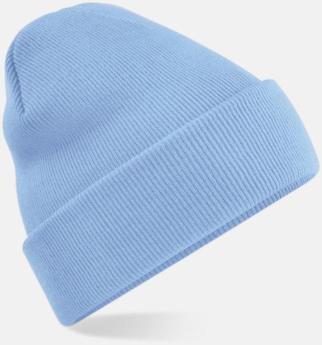 Sky Blue Stickad mössa i många färgstarka alternativ