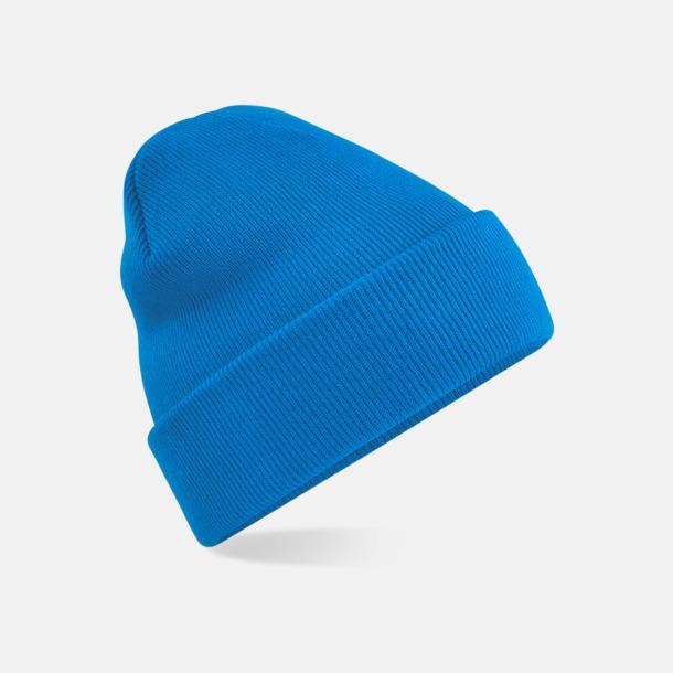Sapphire Blue Stickad mössa i många färgstarka alternativ
