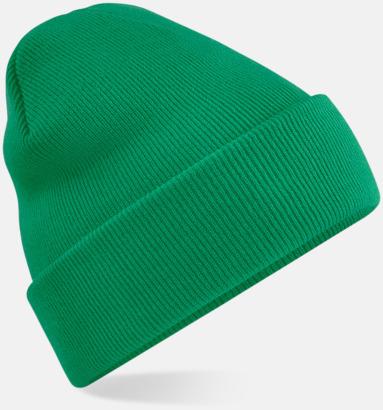 Kelly Green Stickad mössa i många färgstarka alternativ