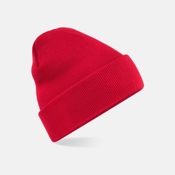 Classic Red Stickad mössa i många färgstarka alternativ
