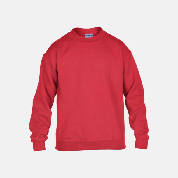 Röd (barn) Tröjor i många färger från Gildan med reklamtryck