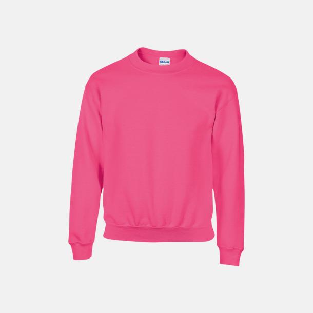 Safety Pink (barn) Tröjor i många färger från Gildan med reklamtryck
