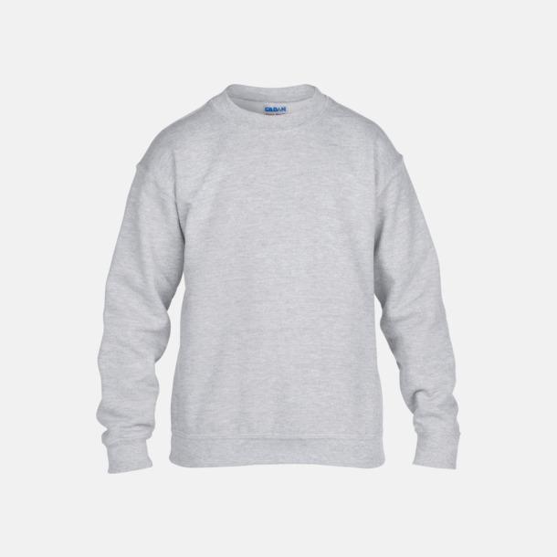 Sport Grey heather (barn) Tröjor i många färger från Gildan med reklamtryck