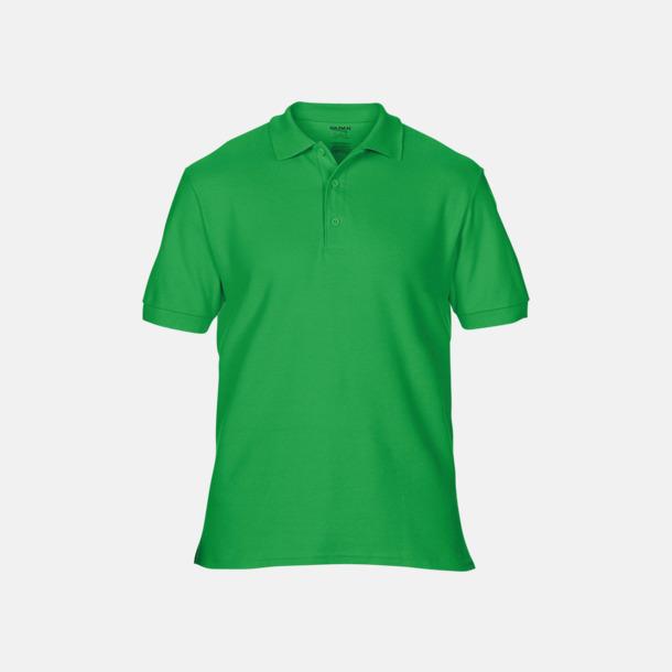 Irish Green Billiga herr bomullspikéer med tryck