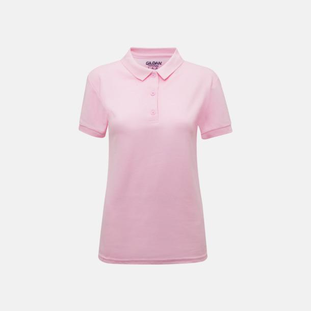 Ljusrosa Billiga dampikétröjor med tryck
