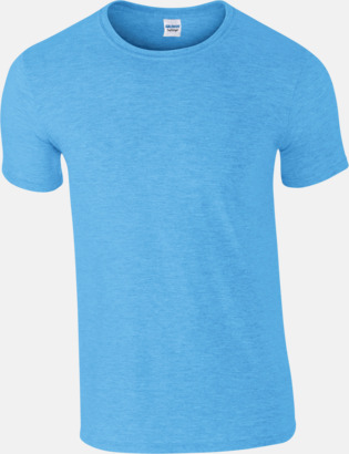 Heather Sapphire Billiga t-shirts med tryck