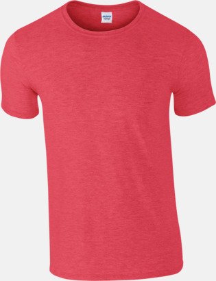 Heather Red Billiga t-shirts med tryck