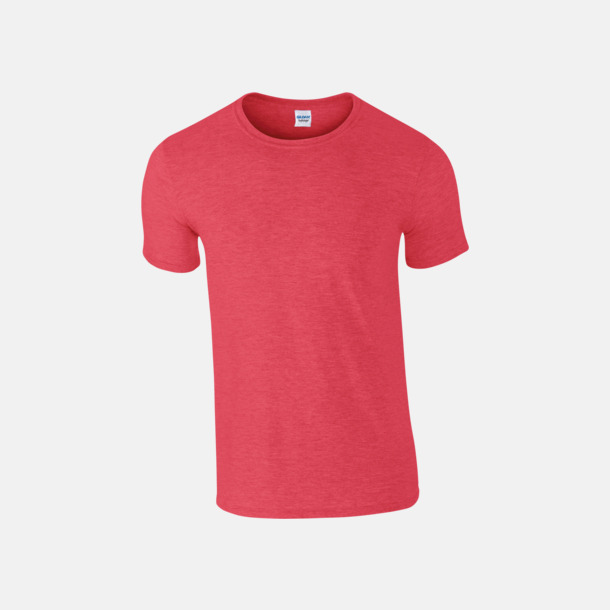 Heather Red Billiga t-shirts med tryck