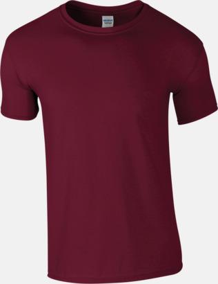 Maroon Billiga t-shirts med tryck